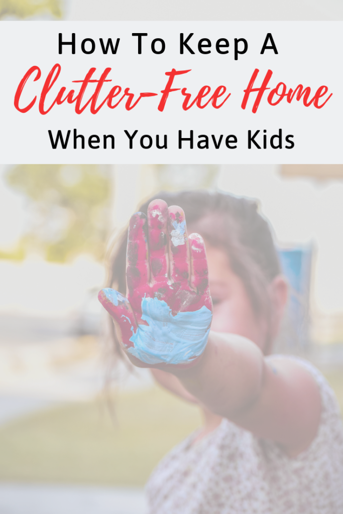 It's stressful enough trying to keep your home organized and clutter-free, but if you throw kids into the mix thats a whole new ball game. Read on for some tips on keeping your home clutter-free and even getting your kids to help!