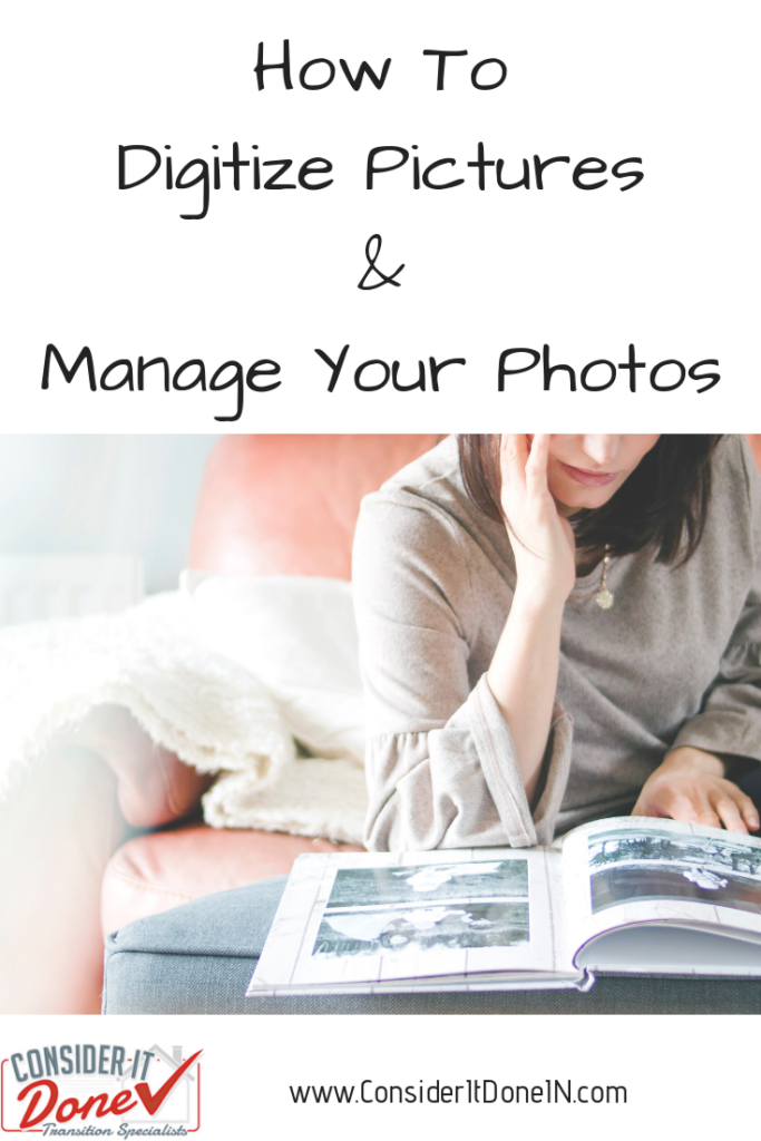 If you have boxes of old photos that you never look at, perhaps it's time to declutter and think about digitizing those print pictures. Learn how to go about it, and how to manage your online photos going forward.