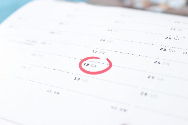 Home Command Center Calendar