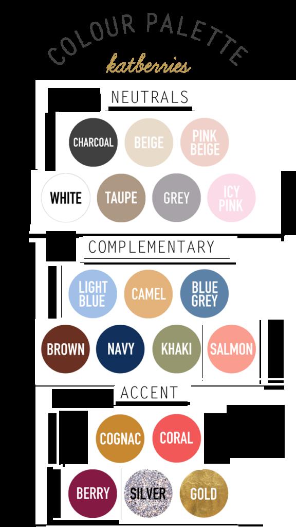 Capsule Closet Color Palette