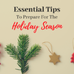 Tips To Prepare For Holiday Season