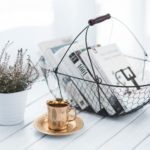 Minimal Living Organized Table