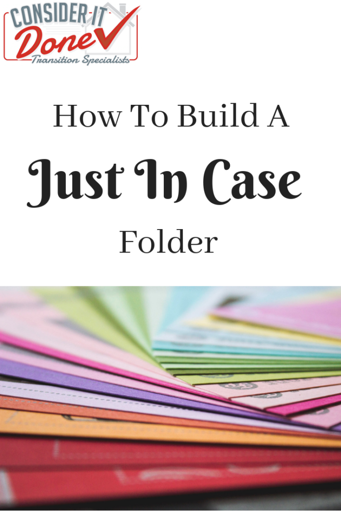 Do you have a Just In Case folder? Do you even know what one is? This is a great way for you and your loved ones to be prepared if the unexpected happens. Read today's How To - I've even included a free checklist for ya to download!