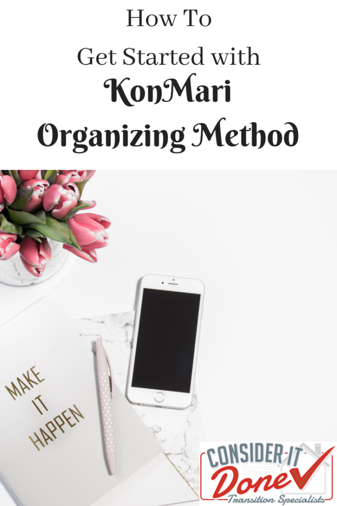 Do you struggle to declutter your home? Are you ready to get things organized but don't know how to get started? Then you should read my KonMari How To. 9 simple tips on how to get started with this great organizing method, which should have you tidying less and enjoying your home more!