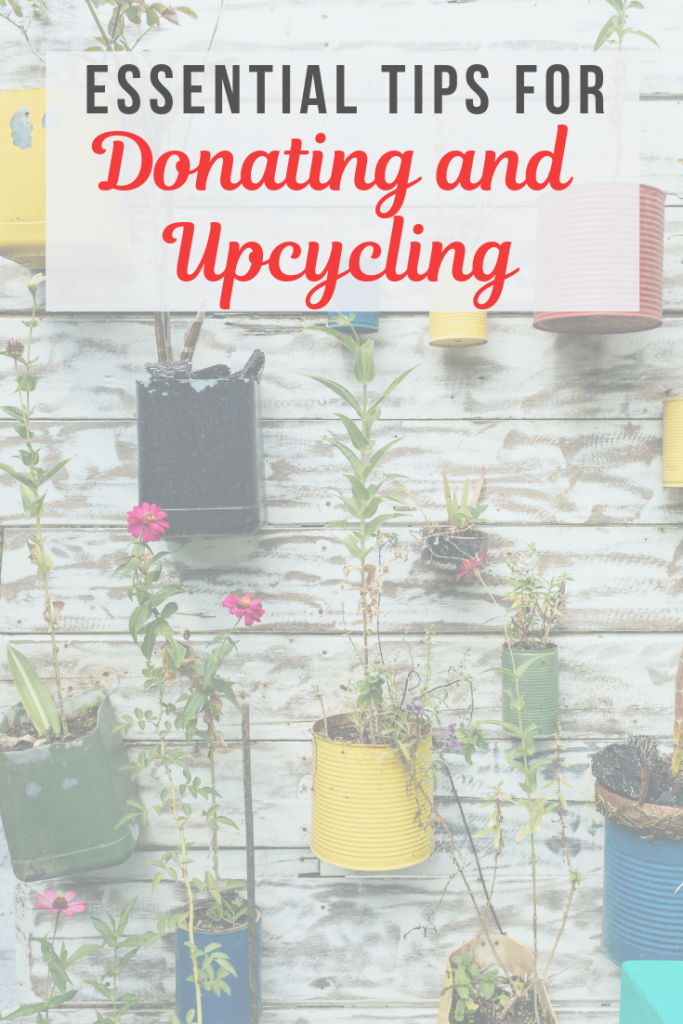 Do you have a mountain of post-Holiday clutter? Do you have waste and packaging coming out of your ears? Read on for top tips for donating and upcycling unwanted items and help the environment at the same time!