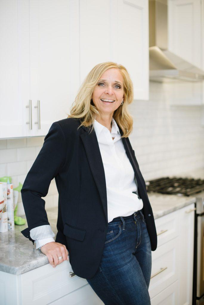 Cheryl Professional Organizer in kitchen