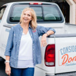 Cheryl by the Consider It Done Truck in Bloomington, IN