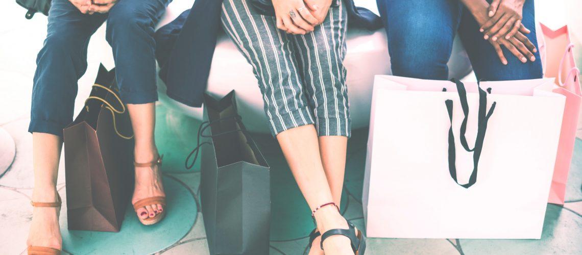 Capsule Closet Shopping Bags
