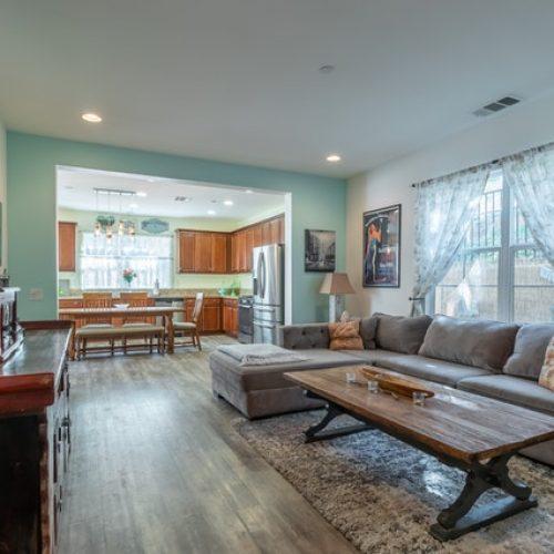 Living Room Organization in Bloomington Indiana